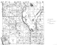 Long Lake Township - South, Washburn County 1952